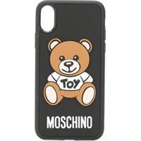 Moschino Capa Toy Teddy Bear Para Iphone X/Xs - Preto