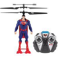 Figura Copter Hero - Helicóptero Com Controle Remoto - Dc Comics - Superman - Candide