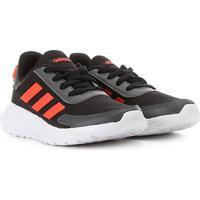 Tênis Juvenil Adidas Tensaur Run K - Unissex-Preto+Vermelho
