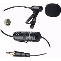 Microfone Lapela Para Smartphone Ou Dslr Vivitar Viv-Mic903