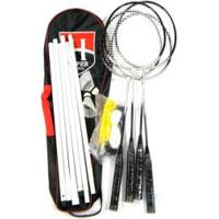Kit Badminton Hyper Sports 4 Raquetes C/ Suporte - Hyper