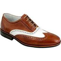 Sapato Social Masculino Oxford Sandro Moscoloni Robert Marrom Cognac
