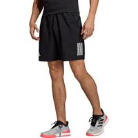 Short Adidas Club 3 Stripes Masculino - Masculino-Preto+Branco