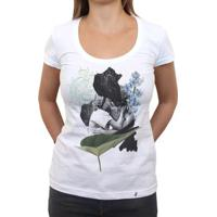 O Beijo - Camiseta Clássica Feminina