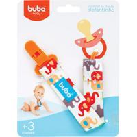 Buba7477 Prendedor De Chupeta Elefantinho (3M+) - Buba