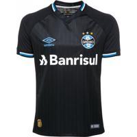 Camisa Umbro Grêmio Oficial 3 Torcedor Nº10 2018/19