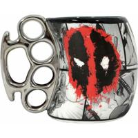 Caneca Soco Inglês Deadpool 350 Ml - Caneca Soco Inglês Deadpool 350Ml