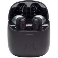 Fone De Ouvido Bluetooth Jbl Tune 220 Tws, Com Microfone, Recarregável, Preto - Jbl T220Tws Blk