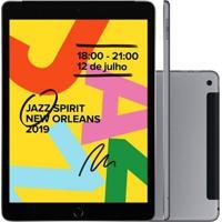 Tablet Apple Ipad 7ª Geração 10.2'' Wi-Fi 32Gb 4G Mw6A2Lz Cinza Espacial