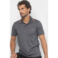 Camisa Polo Burn Color Masculina - Masculino-Mescla
