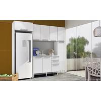 Cozinha Modulada Completa Com 5 Módulos Branco - Art In Móveis