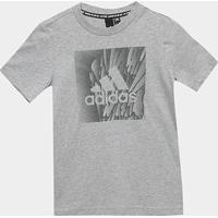 Camiseta Infantil Adidas Yb Mh Box Masculina - Masculino