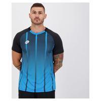Camisa Lotto Stripes Azul