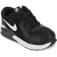 Tênis Infantil Nike Air Max Excee Td - Unissex-Preto+Cinza