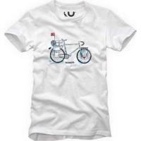 Camiseta Bike Respeite Reserva Branco