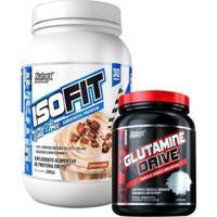 Isofit + Glutamine Drive 2Lb Nutrex - Unissex