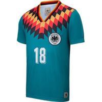 Camisa Alemanha Retrô 1994 Masculina - Masculino-Verde