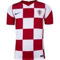 Camisa Seleção Da Croácia I 2020 Nike - Masculina - Branco/Vermelho