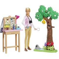 Barbie National Geographic Cuidadora De Borboletas - Mattel - Tricae