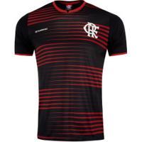 Camiseta Do Flamengo Ray 19 - Masculina - Vermelho/Preto