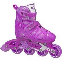 Patins Infantil Inline Roller Derby Tracer Ajustável - Feminino