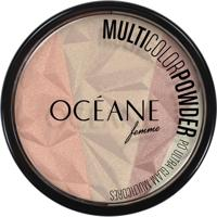 Océane Femme Pó Facial Multicolor Powder Multicores - Feminino