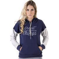 Blusa De Moleton Confort Zones - Feminino