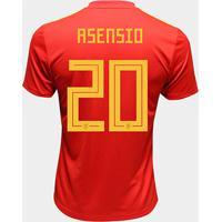 2ab84b7fab Netshoes  Camisa Seleção Espanha Away 2018 N° 20 Asensio - Torcedor Adidas  Masculina - Masculino