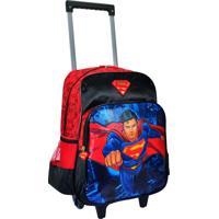 Mochila De Rodinha Superman Grande