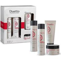 Kit Proteçao Cor Duetto 1 Shampoo 300Ml + 1 Condic. 300Ml + 1 Leave-In 200Ml +1 Máscara 280G - Unissex-Incolor