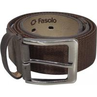 Cinto Fasolo Masculino - Masculino-Cafe