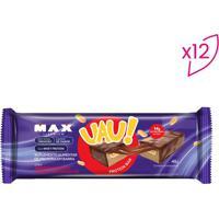 Barra Proteica Uau! Protein Bar- Amendoim Cremoso- 1Probiotica