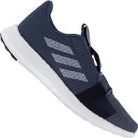Tênis Adidas Senseboost Go - Masculino - Azul Esc/Branco