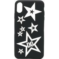 Dolce & Gabbana Capa Estampada Para Iphone Xs - Preto