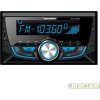 Auto Rádio Mp3 Player - Roadstar - Double Din Com Painel Frontal Fixo - Cada (Unidade) - Rs-3707Br