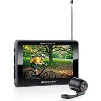 Gps Lcd 4,3 Pol. Touch Tv Digital Rádio Fm Com Câmera De Ré Avin Multilaser - Gp035 Gp035