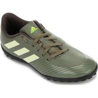 Chuteira Society Infantil Adidas Artilheira Iii Eg2845, Cor: Verde/Preto, Tamanho: 32
