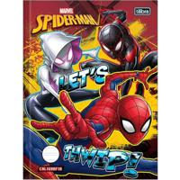 Caderno De Brochura - Caligrafia - Disney - Marvel - Spider-Man - Let'S Thwip - 40 Folhas - Tilibra
