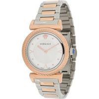 Versace Relógio V-Motif 35Mm - Branco