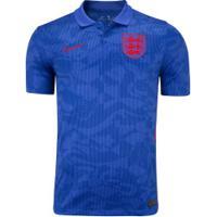 Camisa Seleção Da Inlgaterra Ii 20/21 Nike - Masculina - Azul Esc/Azul