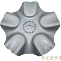 Calota Do Centro Da Roda Chevrolet - Original Chevrolet - Corsa - 1998 Até 1999 - Roda De Aluminio - Prata - Cada (Unidade) - 93.261.919