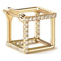 Shihara Brinco Em Ouro 18K E Diamante - Metálico