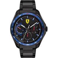 Relógio Scuderia Ferrari Masculino Aço Preto - 830706