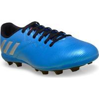 Chuteira Masc Infantil Adidas S79648 Messi 16.4 Fxg J Azul