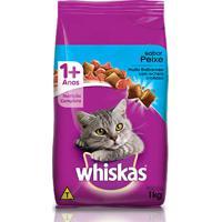 Ração Para Gatos Whiscas Sabor Peixe 1 Kg