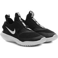 Tênis Infantil Nike Flex Runner Ps - Unissex-Preto+Branco
