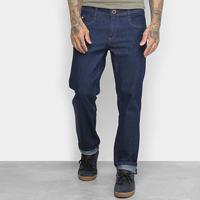 Calça Jeans Hang Loose Olive Masculina - Masculino-Azul