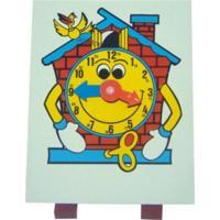 Relogio Cuco Carlu Brinquedos Colorido