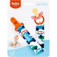Buba7478 Prendedor De Chupeta Carrinhos (3M+) - Buba
