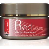 Red Iron Mask Red - Máscara Tonalizante 300Gr - Feminino